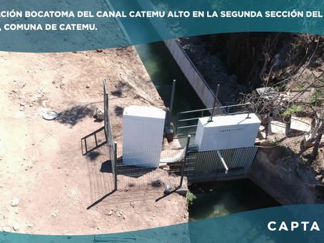 Proyecto Capta Hydro - Automatizadores de Compuertas Capta CFC para Canal Arriba de Catemu ⚡