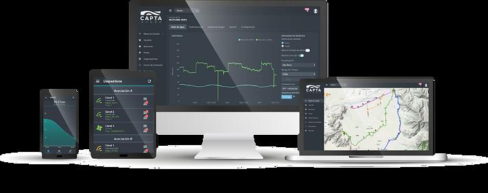 Capta Hydro | Telemetría y Automatización | Chile