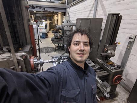 Foco Equipo Capta Hydro: Rodrigo Echeverría, Jefe Área manufactura y Diseño Mecánico