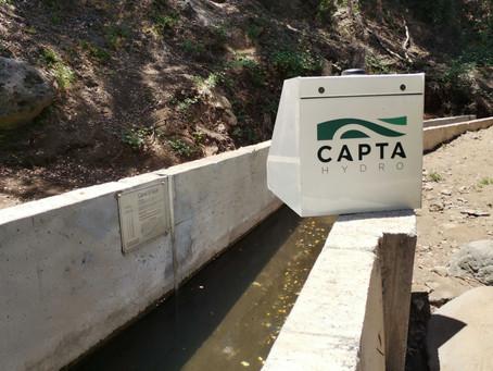 Proyecto de Telemetría Capta CFT en Junta de Vigilancia Estero El Ajial