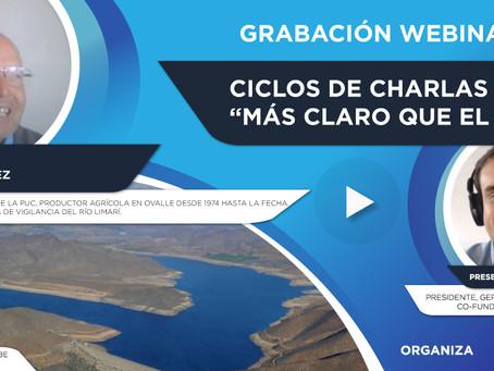 """Grabación Webinar """"Ciclo Más Claro que el Agua"""" Nº8 - José González"""