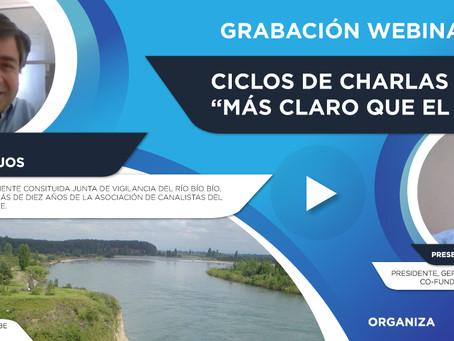 """Grabación Webinar """"Ciclo Más Claro que el Agua"""" Nº1 - Juan Vallejos"""