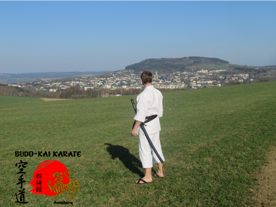 Karatetraining in Annaberg