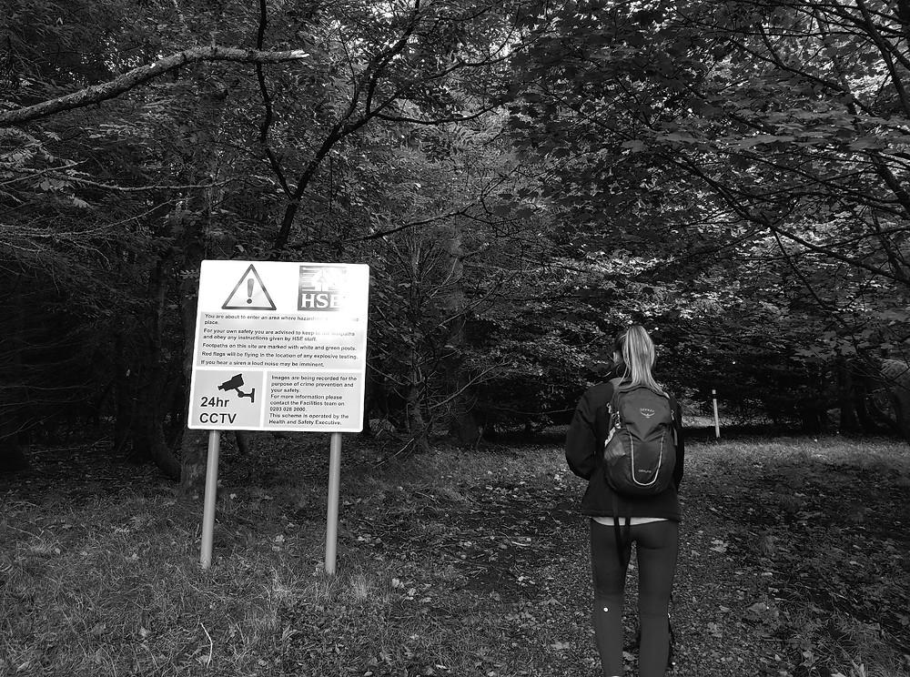 Walking through an HSE test site