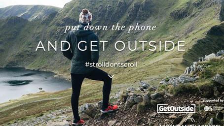 For National Walking Month - #strolldontscroll