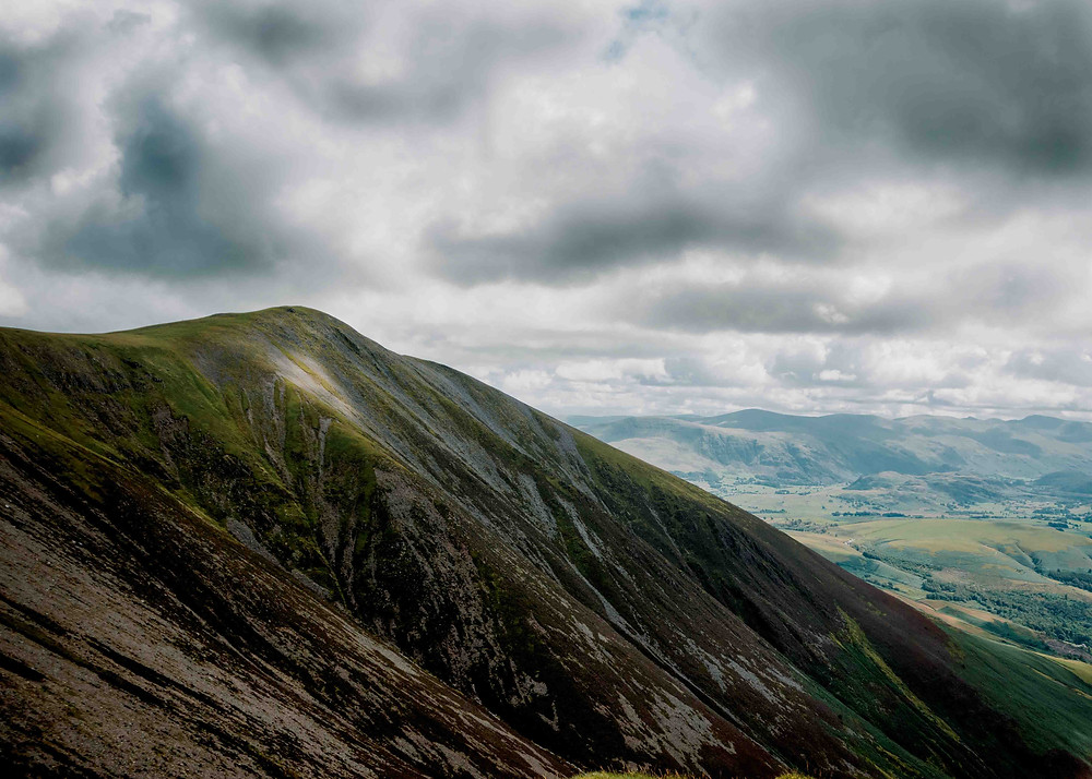 A photography of Skiddaw Little Man