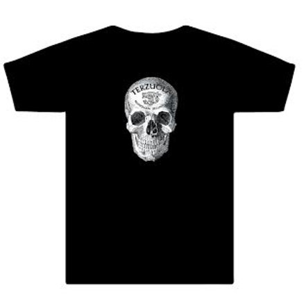 Black Tee with White skull on Front