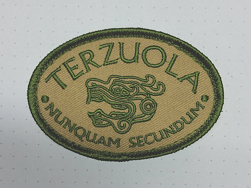 Terzuola Camo Embroidered patch Velcro backed
