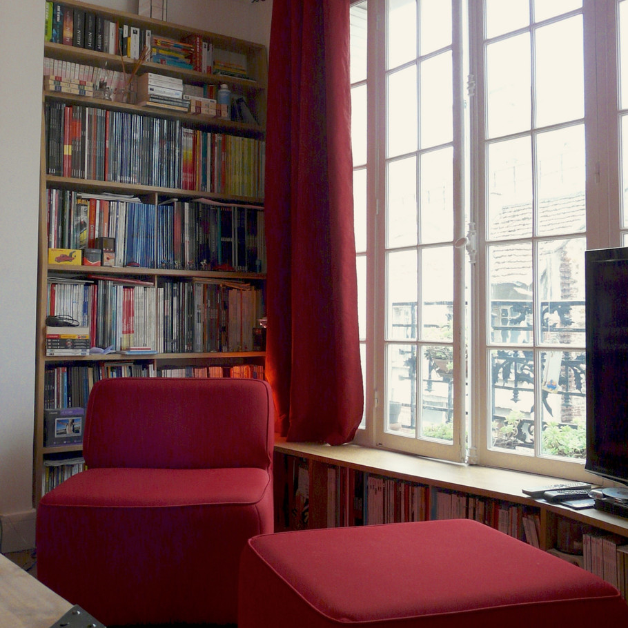 ChristelleMaldague_Conception_Mobilier_Bibliothèque_Appartement_Paris