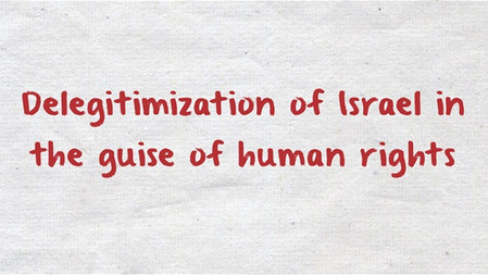 Europeans should discover the truth about the human rights organizations