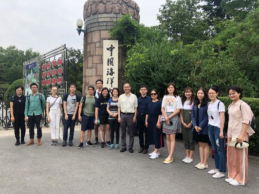 Visit to Ocean University of China