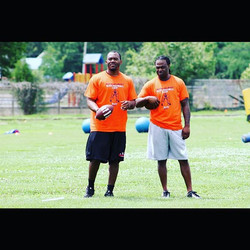 Me and former NFL #DallasCowboys #IndianapolisColts #NewOrleansSaints my lil bro _koreylindsey21