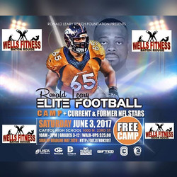 Wells Fitness BR will be apart of another great thing! I will be sponsoring two mvps from this camp!