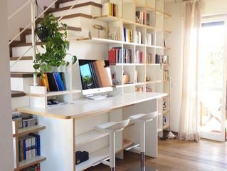 Architecture intérieur chambre, bureau