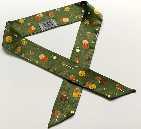 Skinny  Scarf   Planet Dots