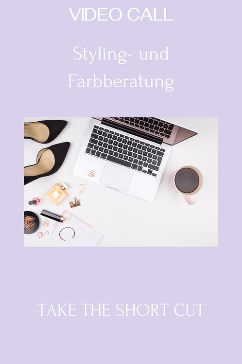 Online: Styling-Beratung und Farbanalyse
