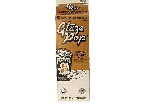Caramel Glaze Pop - Frosted Popcorn Mix - 12 per case