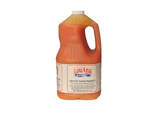 LouAna Pop-N-Lite Premium Popping Oil - 4 Gallons