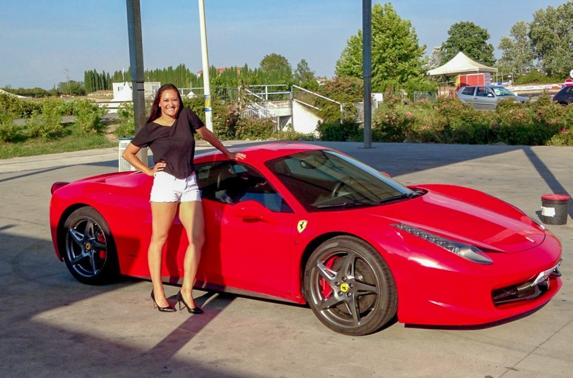 Standing-with-a-Ferrari