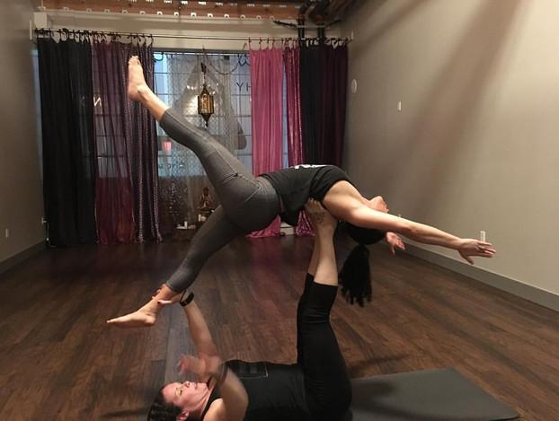 Taking Flight w/ Acro Yoga!