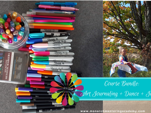 Course Bundle: Let There Be Light! (Art Journal+Dance+Journaling)