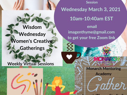 Women's On-Line Creative Healing Circles