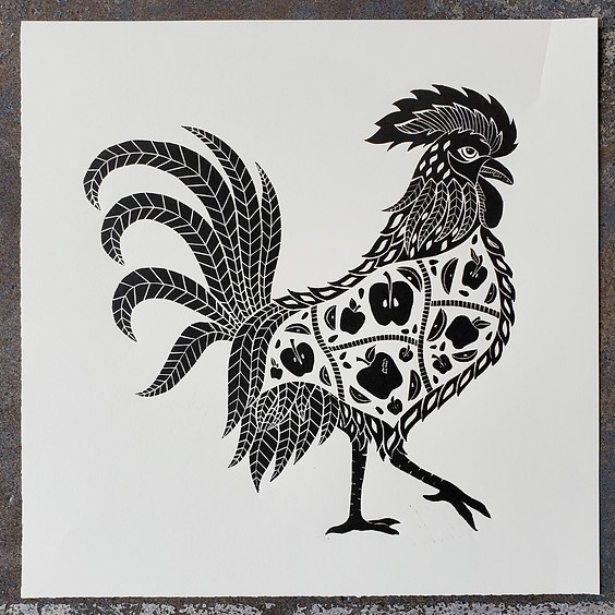 Intro to Block Printing - Workshop with Stacy Tabb