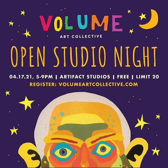 Open Studio Night at ARTifact