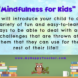 Mindfulness for Kids group class