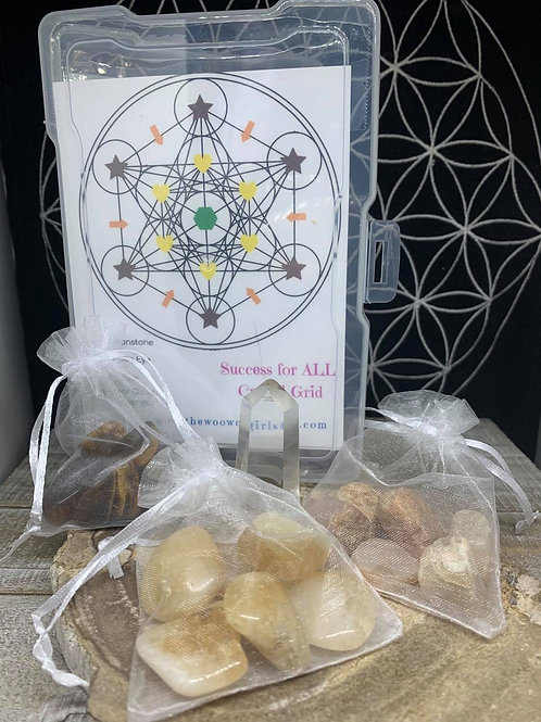 Success for All Crystal Grid Kit
