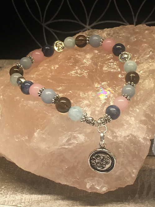 """""""Help with Venus in Retrograde"""" Crystal Energy/Healing Bracelet"""