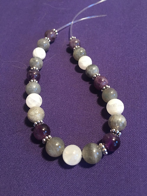 """Custom Made Just for YOU!!!"" Crystal Energy/Healing Bracelet"