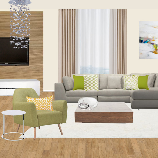 Living Room Design, Poland