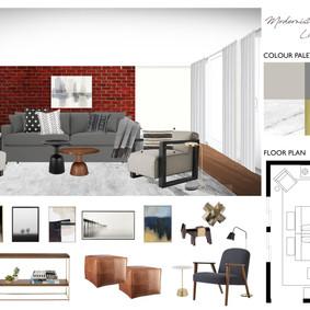 Living Room Design, New York