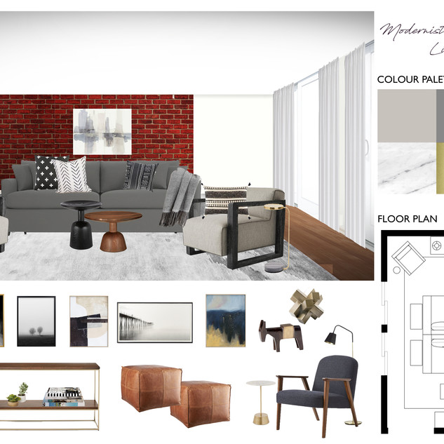 Living Room Design, New York