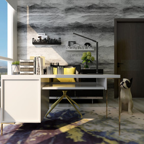 Modern Apartment   Home Office