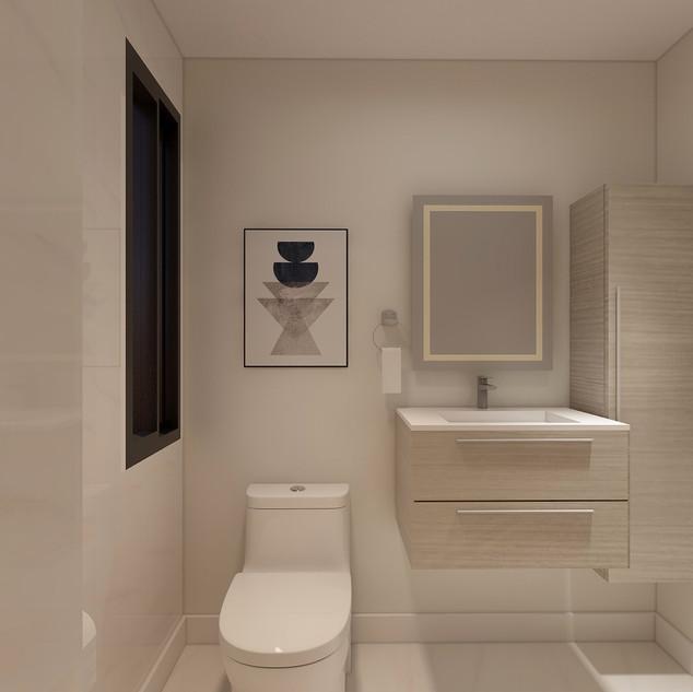 Guest Bathroom, Chicago IL