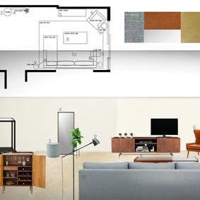 Living Room Design, Dubai