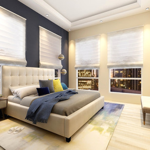 Modern Apartment | Master Bedroom