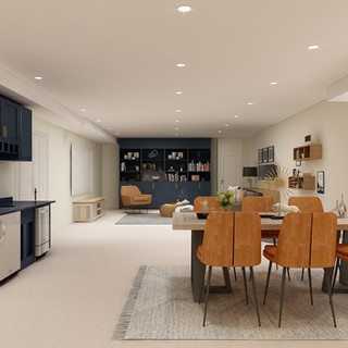 Frankfort IL Basement Design