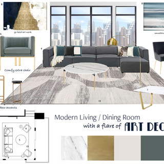 Pittsburgh | Loft Living Room Concept