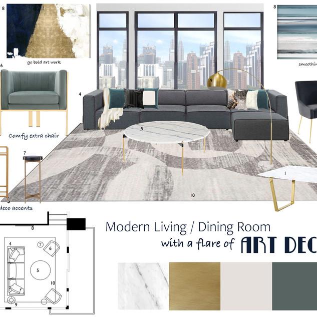 Pittsburgh   Loft Living Room Concept