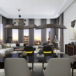 Modern Apartment | Dining