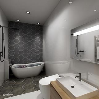 Hong Kong Luxury Apartment | Master Bathroom