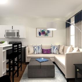 Living Room Design, PA
