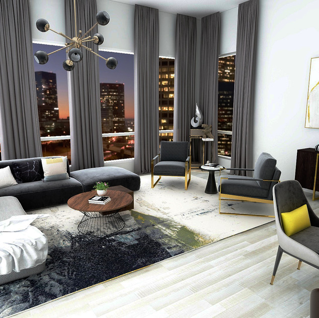 Modern Apartment | Living Room