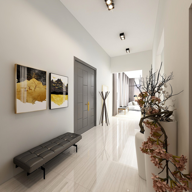 Modern Apartment | Entryway
