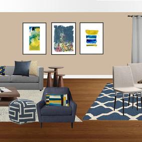 Living Room Design CA