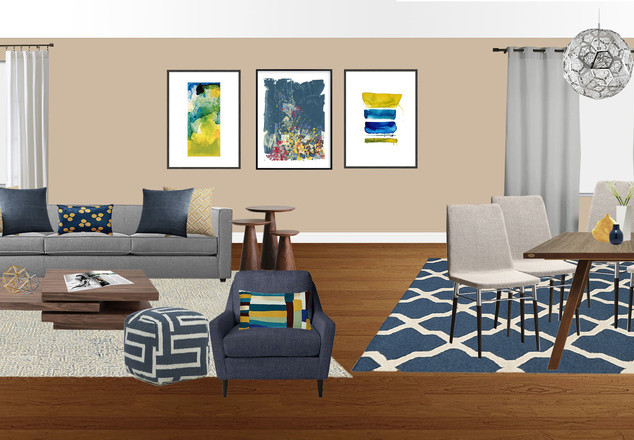 Living Room Design CA