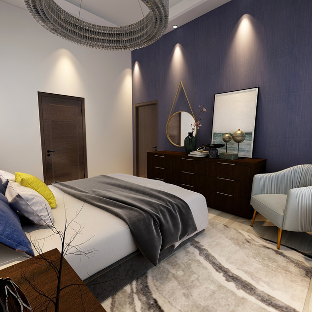 Modern Apartment   Guest Bedroom